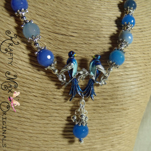 Bluebirds You Can Wear With Anything! Set from Grandmother's STASH