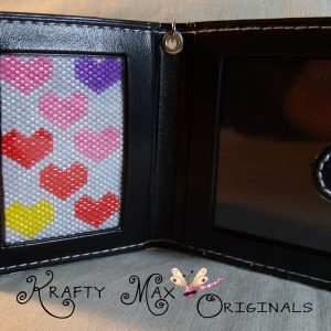 Bright Hearts Beadwoven Key Chain  Photo Book