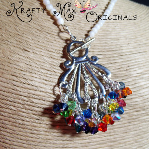 Rainbows are Falling Down Today Necklace Set