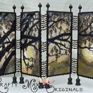 Reaching Tranquility Miniature Dressing Screen a Krafty Max Original