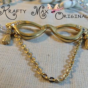 Old Lady Glasses Swarovski Crystal Set – from Grandmother's  Stash