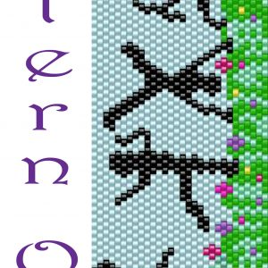 Kids at Play Beadwoven Braclet PATTERN ONLY Krafty Max Original Design