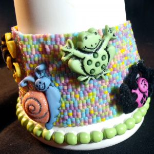 BUGS, bugs, bugs!! Handwoven Beaded Bracelet