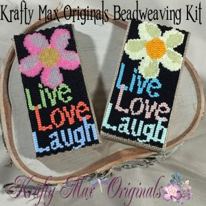 Live Love Laugh Beadwoven Mini Artwork Kit