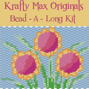 Krafty Max Originals Flower #BeadALong Kit