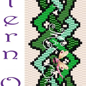 Celtic Ribbon Beadwoven Bracelet PATTERN ONLY
