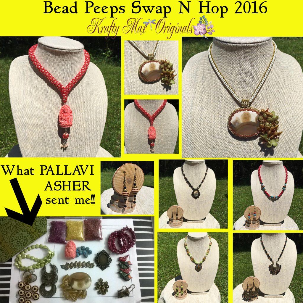 Bead Peeps Swap N Hop 2016