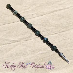 No Husband Needed Klasp Helper! Black and Green Gemstone