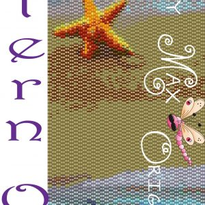 Beach with Starfish Amulet Bag – Pattern ONLY