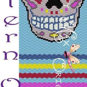 Sugar Skull Amulet Bag – Pattern ONLY