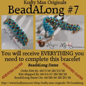 Krafty Max Originals 7th #BeadALong