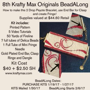 Krafty Max Originals 8th BeadALong