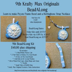 Krafty Max Originals 9th BeadALong