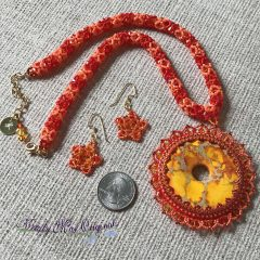 Duchess Arunika Sunshine Glow Necklace, New Wall Art (colors and a start) and Before We Were Yours by Lisa Wingate GiveAWay