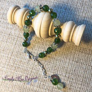 Green on Green on Green Bracelet
