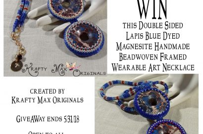 Blue and Red Magnesite GiveAWay