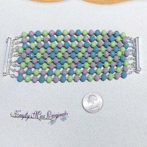 Spring Multi Strand Magnetic Clasp Bracelet