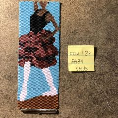 New Listing Blue (from Jessie James Beads), Dancing Bracelet (working 2,484 beads) and Peyote Bracelet in a Box Monthly Kit
