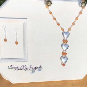 Life's Mysterious Don't Take It Seriously – Gemstone Necklace Set
