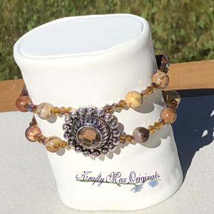 Topaz Double Strand Bracelet