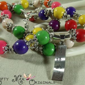 Rainbow Magnesite 'Happiness As You Desire' Necklace Set