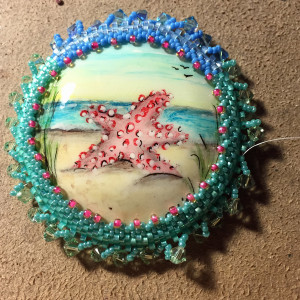 star fish beadwoven wrk necklace set 10