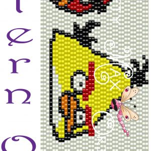 Angry Birds – Red, Yellow and Black-PATTERN ONLY-a Krafty Max Original