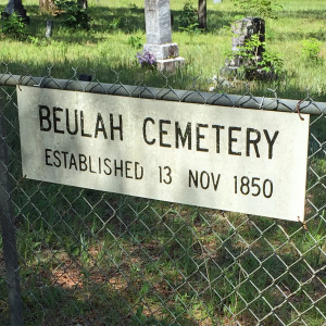 Beulah cemetery at Camp Blanding 1