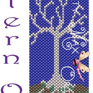 Tree with No Leaves Peyote Bracelet PATTERN ONLY Krafty Max Original
