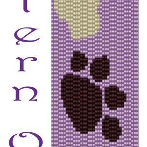 Loving Your Doggie Bracelet-PATTERN ONLY Krafty Max Original Design