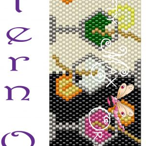Party from Day to Night Beadwoven Bracelet PATTERN ONLY