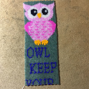 owl bookmark 148