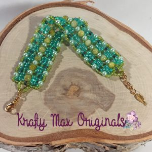 shades of green bracelet 4