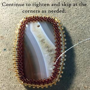 Brown Bracelet with lesson 9 copy