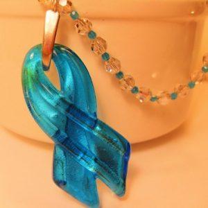 Blue Ribbon Swarovski Crystal Beauty Set