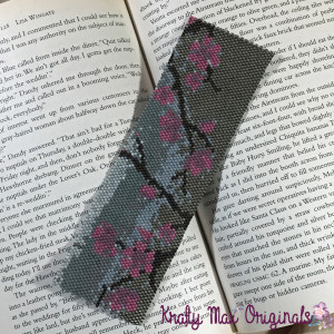 cherry flowers bookmark 3