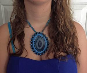 Ashley blue dress 3