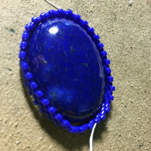Lapis Lazuli working 8