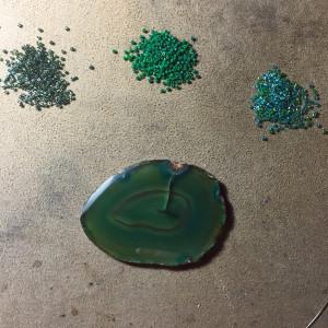 green agate slice wrk 1