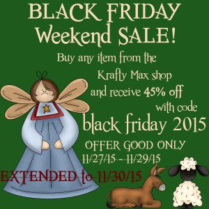 Black Friday Sale - extended copy