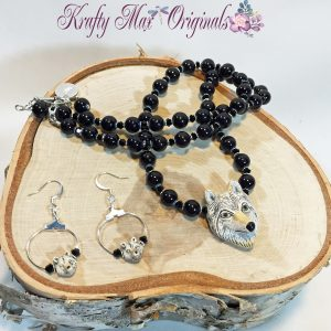 Wolf and Black Onyx set 1