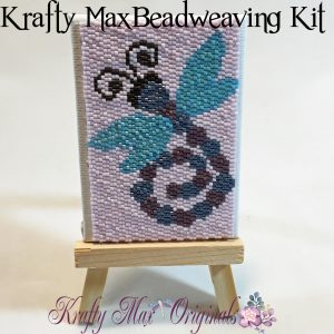 Dragonfly ACEO Beadweaving Kit
