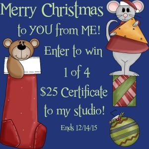 christmas joy giveaway