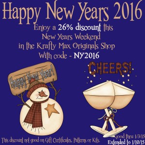 New Years Discount extended
