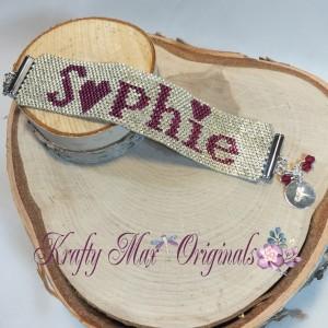 custom bracelet for Sophie - Soladad copy