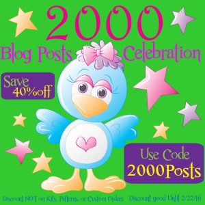 2000 Blog Post Celebration