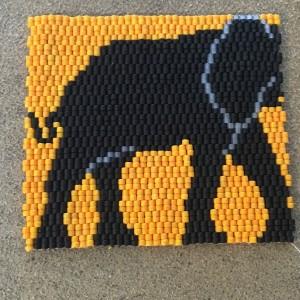 Elephant ACEO Wrk 73