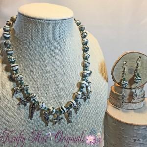 Ocean Charm Necklace Set 1