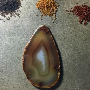 brown agate slice working 1