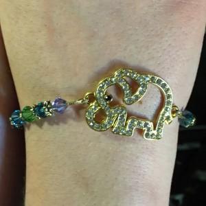 ashley elephant bracelet 1